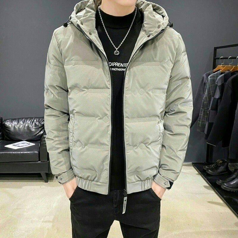 LOMEMOL зимние мужские пуховики Новые Модные Молодежные жизненные осенние и зимние пуховики мужское зимнее пальто легкая куртка