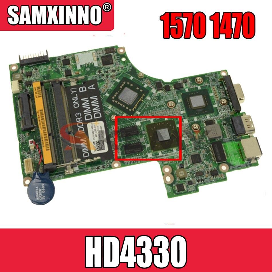 Akemy لأجهزة الكمبيوتر المحمول Dell inspiron 1570 1470 اللوحة الأم DA0UM2MBAC0 CN-04580M 04580 متر 5GFXR اللوحة الرئيسية HD4330 بطاقة الفيديو