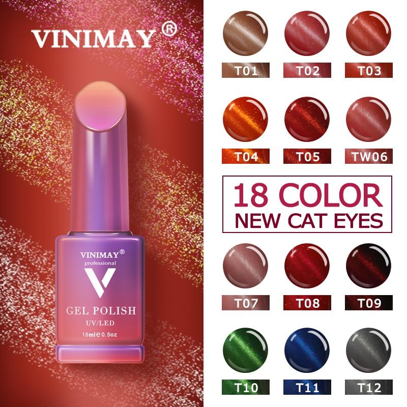 VINIMAY Gel Nail Polish vernis semi permanant UV Soak Off Gelpolish Nail Art Gel Varnish Primer Manicure Nails Gel Lacque