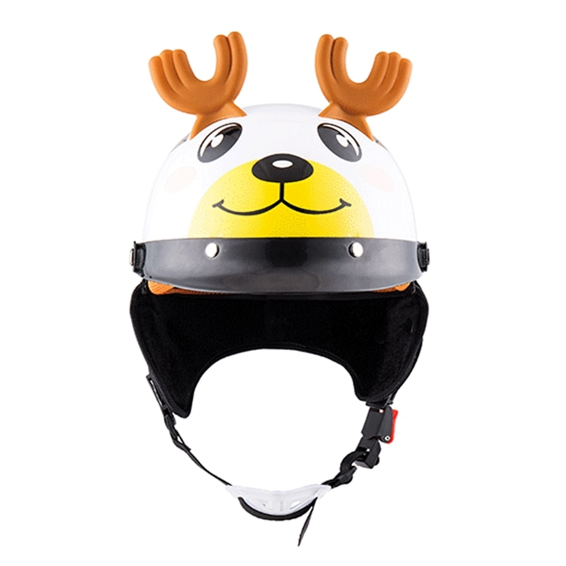 For Kids Safety Cycling Helmet Lightweight Cute Bicycle Motorcycle Riding Helmet With Anti-fog Lens Bike Protection Helmet enlarge