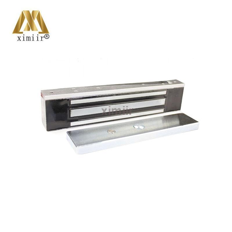 Impermeable IP65 cerradura magnética cerradura de puerta de acero inoxidable 280kg 600lbs eléctrica de bloqueo EM para Control de acceso de puerta W280