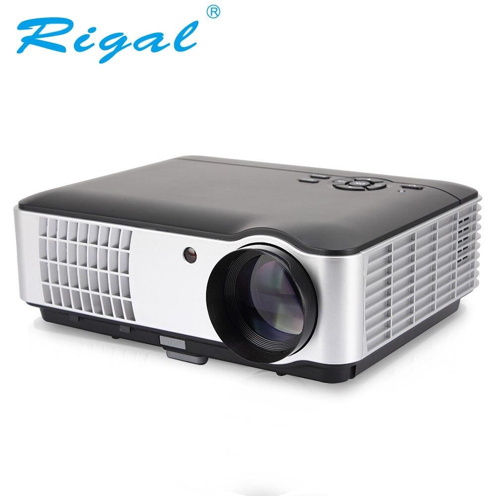 Rigal проектор RD806AW LED умный проектор Android WIFI 5000люмен 3D 720P проектор домашний кинотеатр TV LCD видеоприставка для телефона