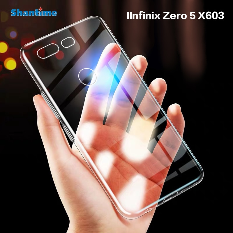 Para infinix zero 5 x603 caso ultra fino claro tpu macio capa para infinix zero 5 pro couqe funda