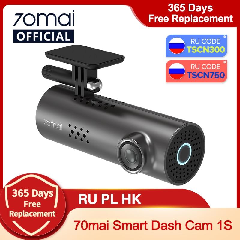 aliexpress.com - 70mai Car DVR 1S APP & English Voice Control 70mai 1S 1080P HD Night Vision 70mai 1S Dash Camera Recorder WiFi 70mai Dash Cam