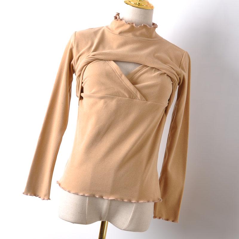 Nursing Clothes Breastfeeding Shirt Maternity Clothes Nurse Maternity Tops Pregnancy Wear Mom To Be 2021 Autumn