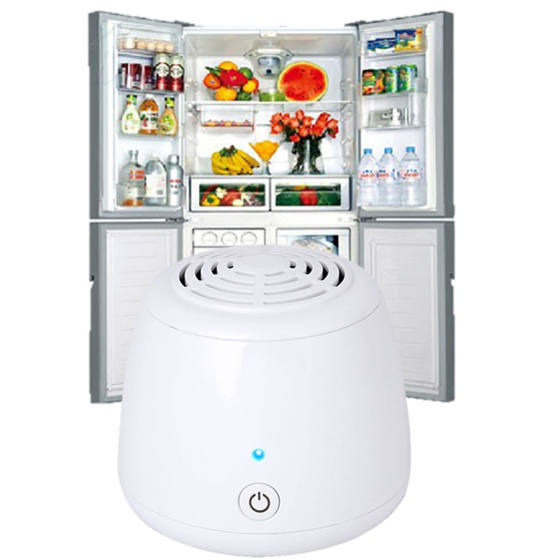 Fridge Air Purifier Ozone Generator DC6V Fridge Food Fruit Vegetables Shoe Wardrobe Car O3 Ionizer Disinfect Sterilizer Fresh