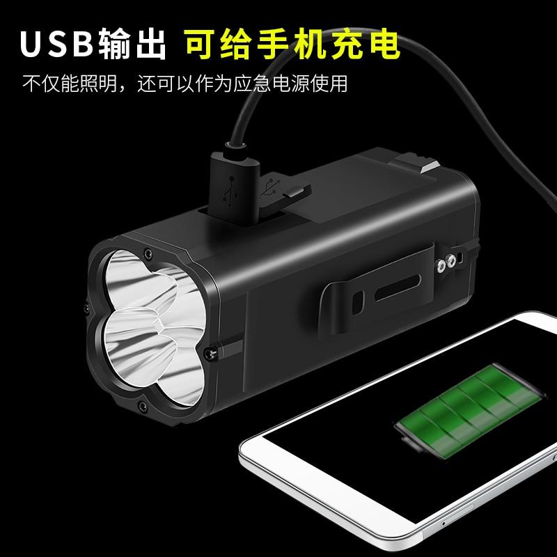 Camping Flashlight Rechargeable Outdoor Long Range Flash Light High Power Multifunctional Lanterna Tatica Flashlights EB50SD enlarge