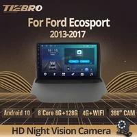 2din android 10 0 car radio for ford ecosport 2013 2017 gps navigation stereo receiver dsp auto radio car radio with screen igo