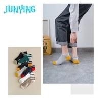summer cartoon boat socks creative product mens mesh sweat absorbent sports jacquard unisex ankle sock high quality