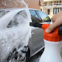 1000 мл Автомобильная моющая пенная бутылка для мытья автомобиля моющий Пенообразователь для мытья снега насадка для автомобиля Мыло для воды шампунь распылитель спрей пена