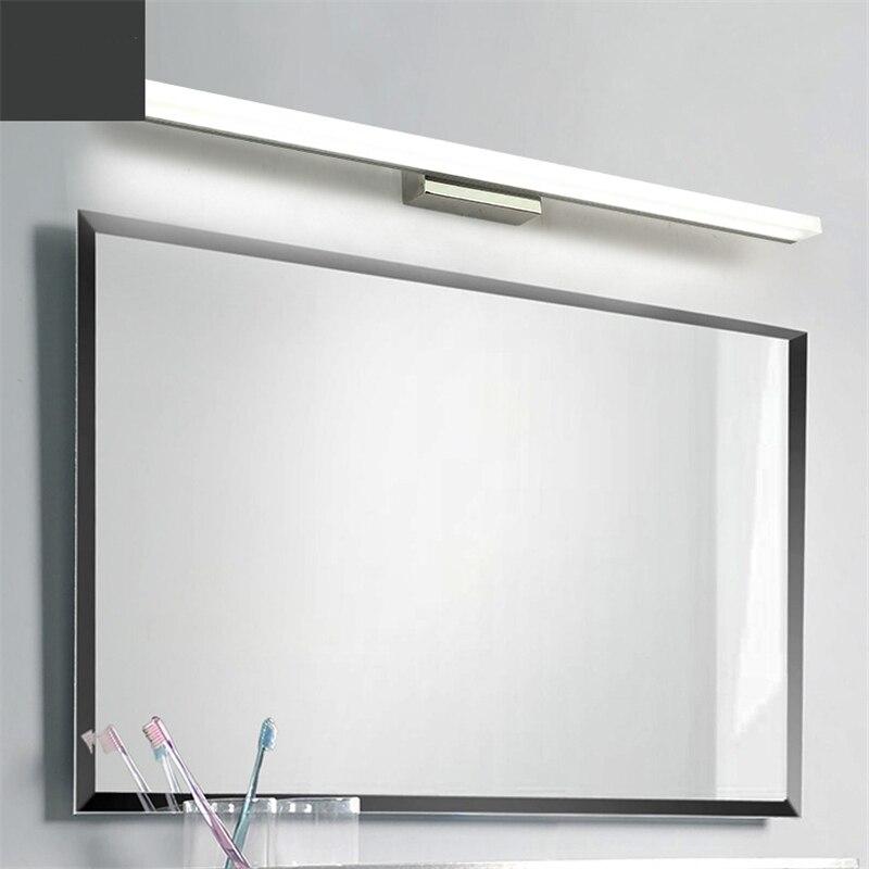 Современные светодиодные лампы для спальни ванной комнаты туалета, зеркальный шкаф, креативное туалетное зеркало, туалетный столик, космет...
