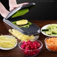 multi vegetable chopper set kitchen accessory manual versatile vegetable cutter food dicer for kitchen potato chopper gadgets