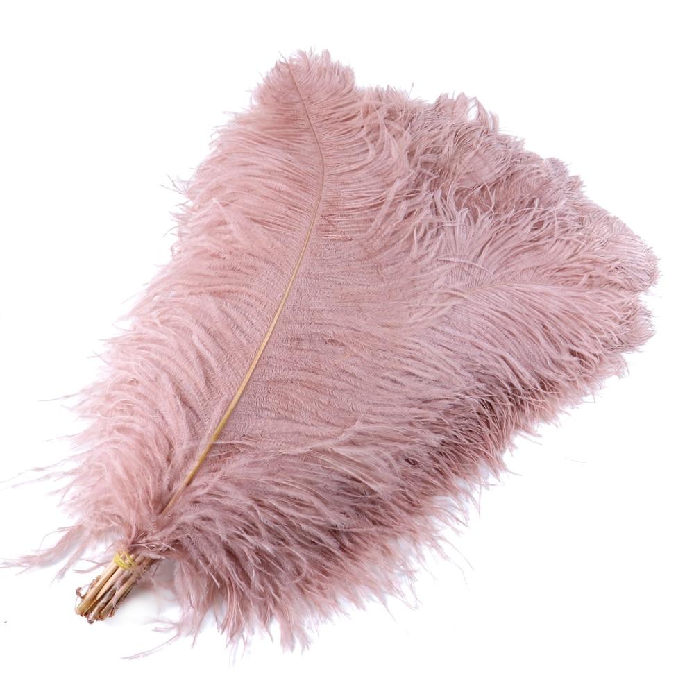 Grande pólo macio couro rosa avestruz penas 60-65 cm/24-26 polegadas plumas de avestruz para festa de casamento decoração para casa artesanato