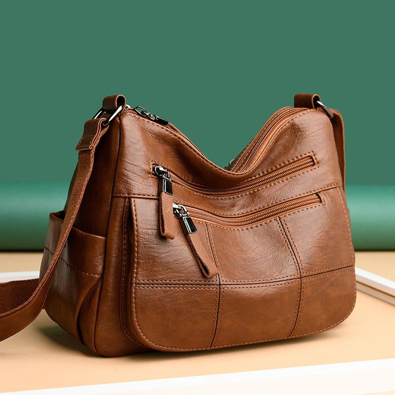 High Quality Purse Leather Luxury Handbags Women Shoulder Bags Designer Crossbody Bag for Women Bag Fashion Female Messenger Bag