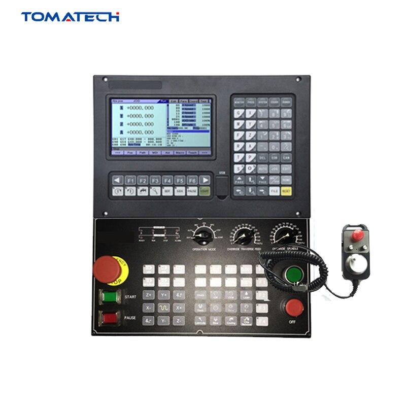 Kits completos de alto rendimiento controlador de fresado CNC de 4 ejes para maquina enrutadora