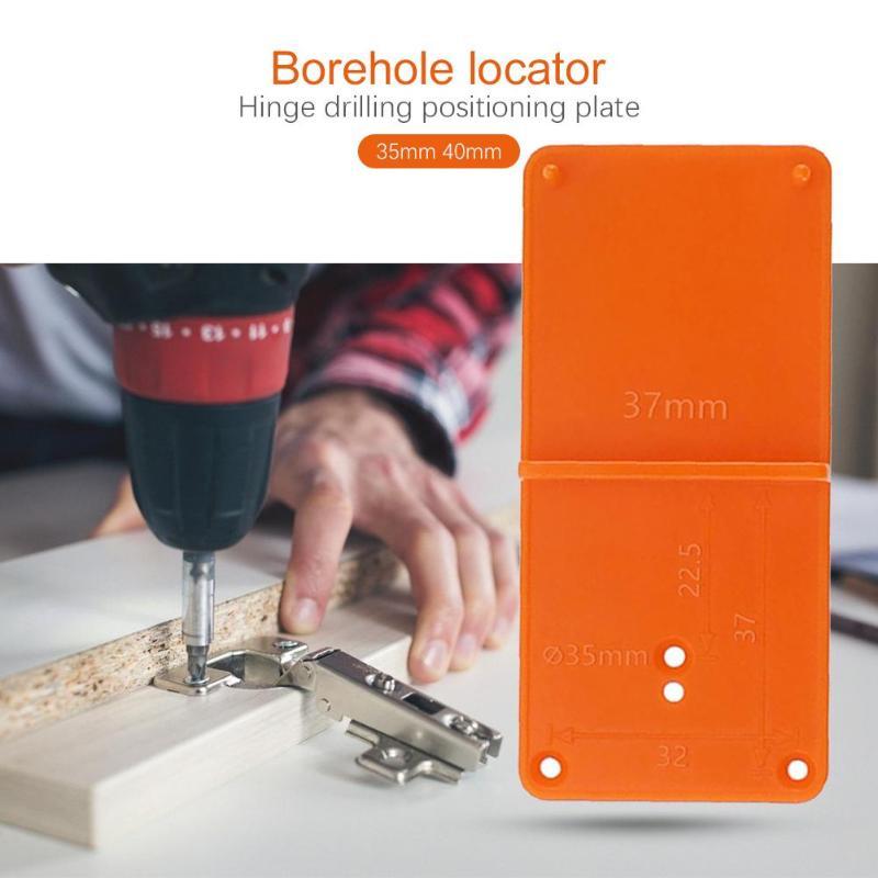 Cerniera per punzonatura per falegnameria da 35 / 40mm, modello per - Strumenti di misura - Fotografia 2