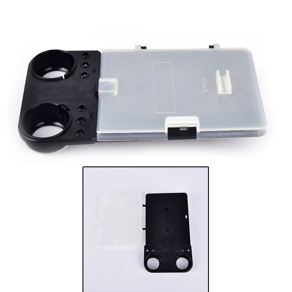 Пластиковый держатель для карт для игры в гольф, черный + прозрачный чехол для игры в гольф/карандаш/мячи/футболки