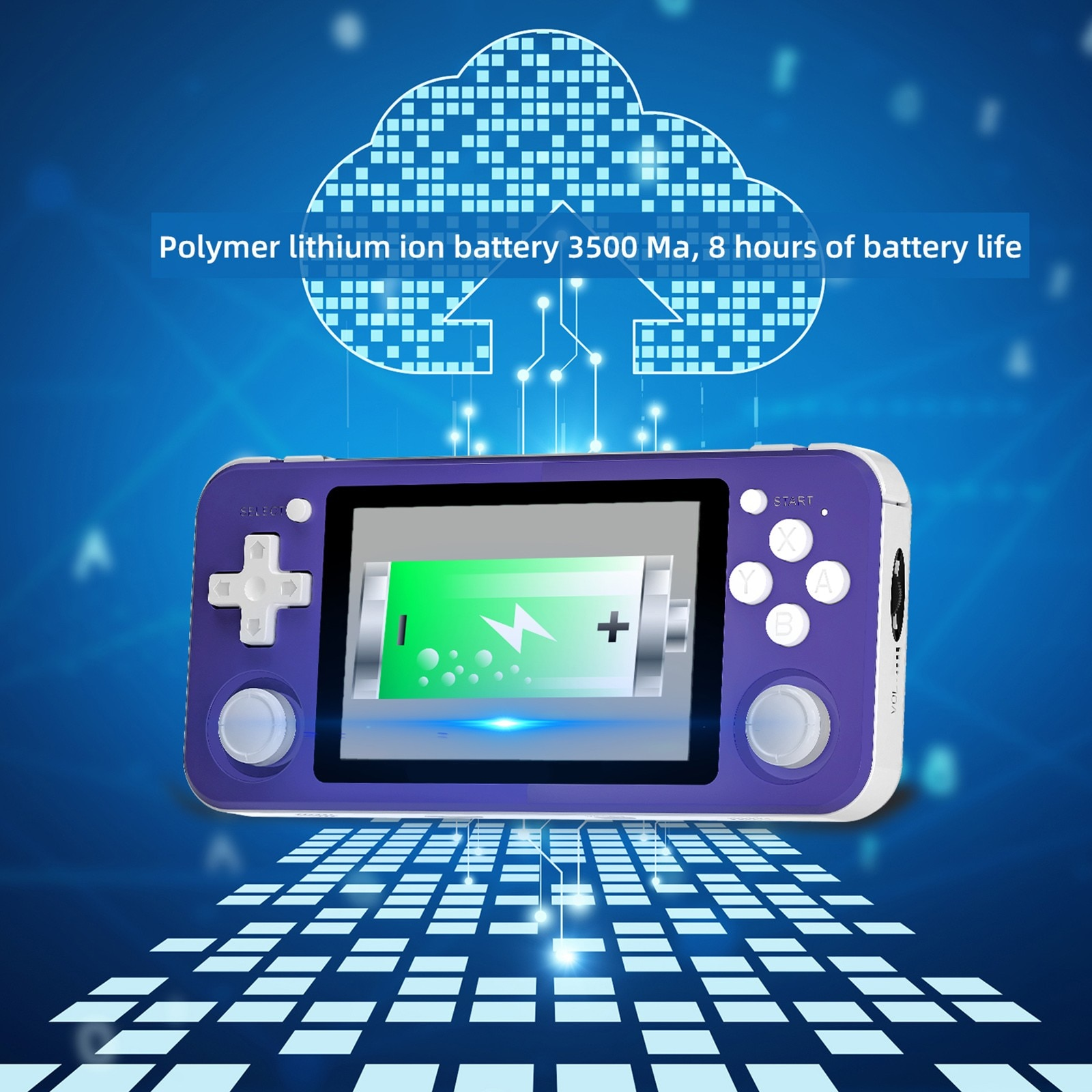 Rg351p Handheld Spielkonsole 3,5-zoll Ips Bildschirm Dual Rocker Linux System Pc Shell Ps1 N64 Spiele kinder geschenke #3