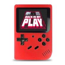 400 jeux MINI Portable rétro Console vidéo Portable jeu avancé joueurs garçon 8 bits intégré Gameboy 3.0 pouces couleur écran LCD