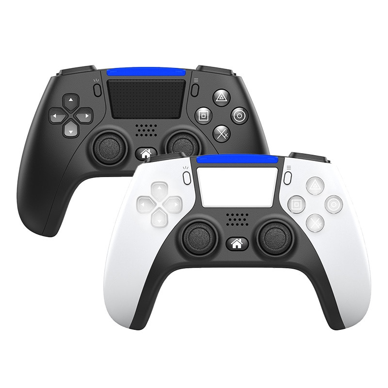 New Arrival OEM Design PS5 Style Game Handel Wireless Gamepad 4.0 Connect Joystick