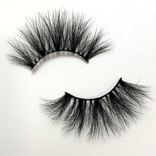 25mm mink lashes100% handmade natural thick eye lashes wispy makeup extention tools mink hair volume