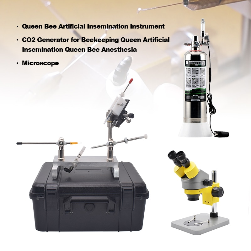 Efficient Mating Equipment Professional Microscope Queen Bee Artificial Insemination Instrument Kits
