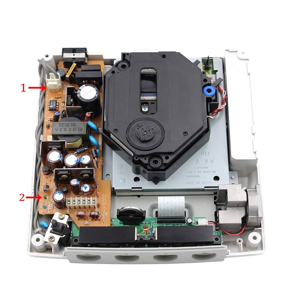 Conjunto de fuente de alimentación Rev2.0 de 12V de repuesto, versión para consola de juegos Sega Dreamcast
