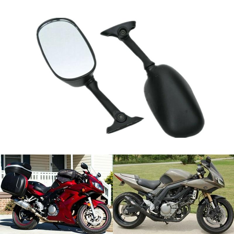 دراجة نارية مرايا الرؤية الخلفية الجانبية مرآة لسوزوكي GSXR1000 GSXR 600 GSX-R750 اللصوص GSF650S GSF1250S GSX1250 SV1000 SV650