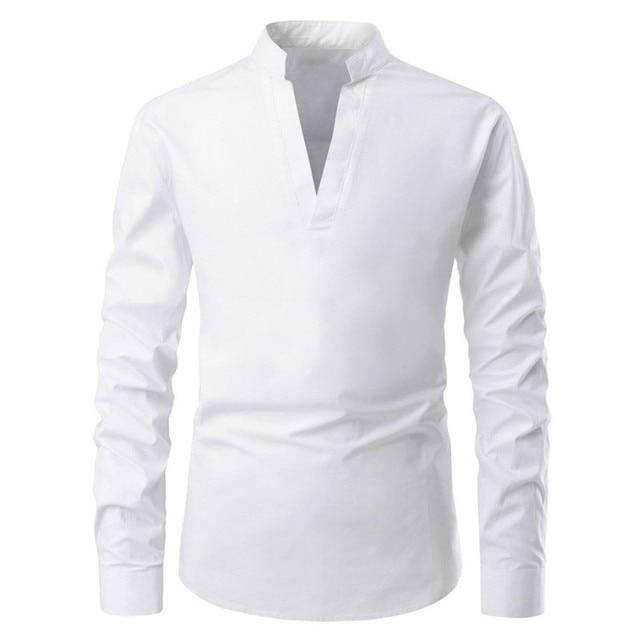 تي شيرت غير رسمي للرجال تي شيرتات قصيرة الاكمام للرجال تجريب القطن الخالص سليم تي شيرت علوي أبيض جديد ملابس عصرية