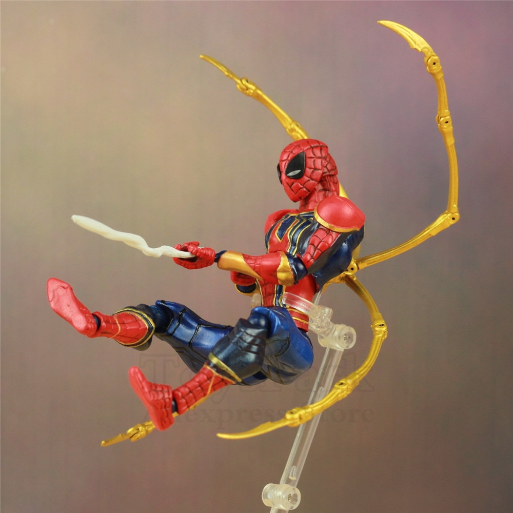 "Figura de acción Los vengadores de Marvel de Iron Man de 6 "", juguete de Infinite War del complejo Endgame KO girtech, increíble muñeco Yamaguchi Katsuhisa"