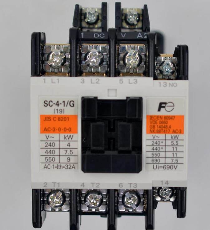SC-4-0 AC220V 1B 3P   16A   220VAC SC AC contactor (AC...