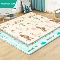super thick 1cm xpe baby play mat toys for children rug playmat developing mat baby room crawling pad folding mat baby carpet