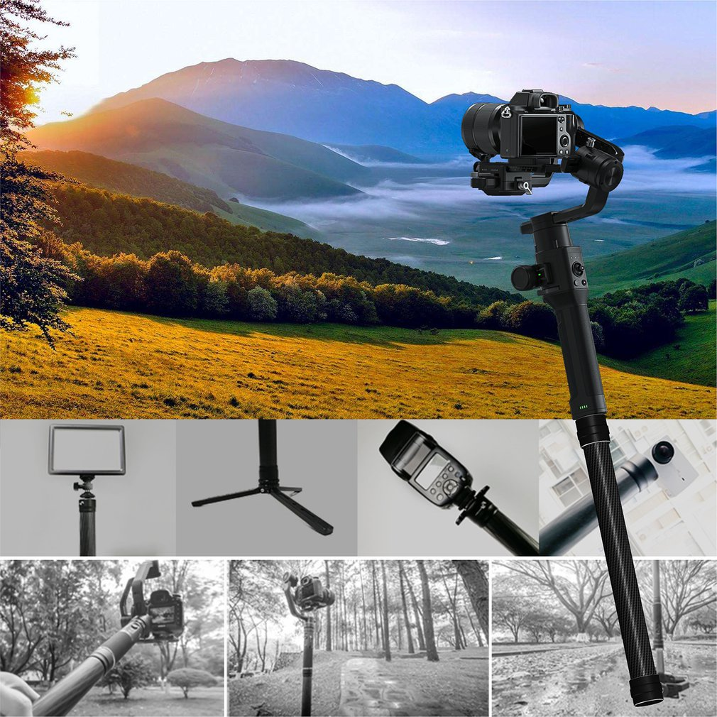 Suitable For Dajiang Ruying For Ronin-S/For Sc /For Zhiyun Weebill S Handheld Gimbal Extension Rod Extension Rod enlarge