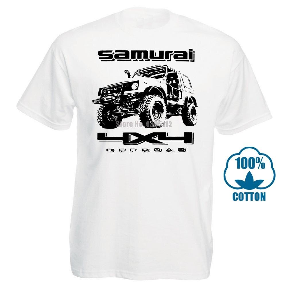 Off Road Fan Suzuki Samurai algodón suave para hombre Camiseta moda algodón Tops talla S 3Xl