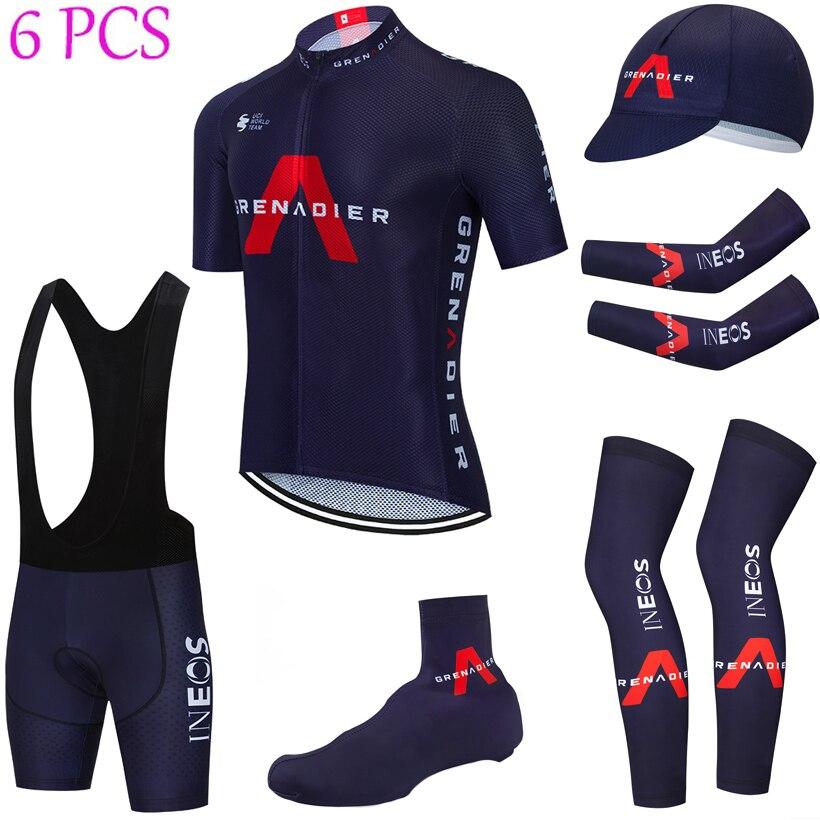 2021 equipo INEOS Ciclismo Jersey 20D pantalones conjunto Ropa Ciclismo rápido seco...