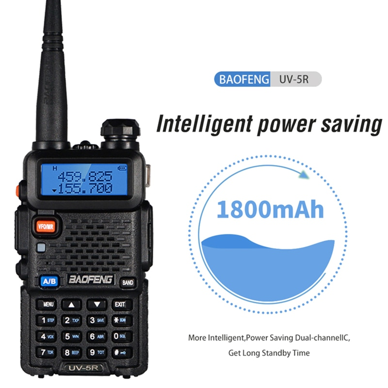 6PCS Baofeng UV 5R Walkie Talkie Real 8W Dual Band Walkie UV-5R FM Transceiver UV5R Amateur Ham Radio Station Hunting Transmitte enlarge