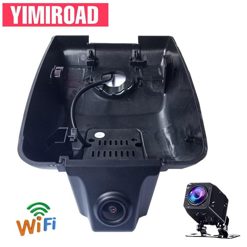 YIMIROAD-voiture WIFI Novatek   96675, WIFI en 2018, DVR, double Dashcam, pour Toyota Camry XV70 XLE V70, 2019 2020, voiture 2 Dvrs