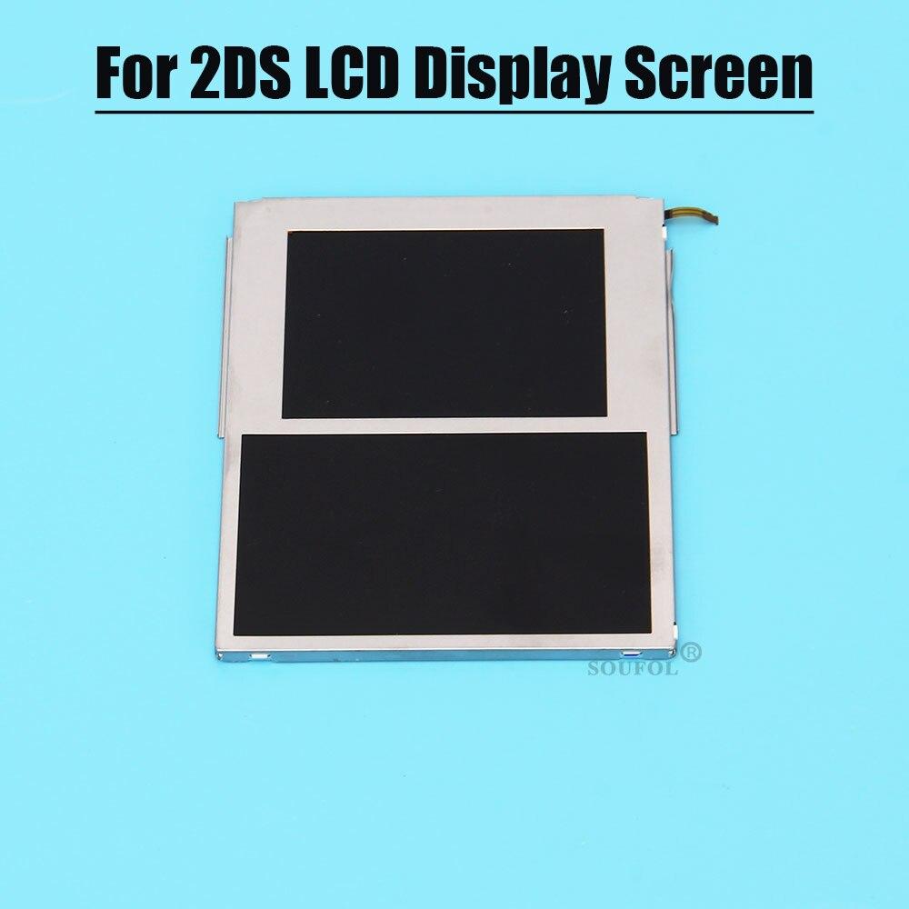 الأصلي العلوي أسفل شاشة LCD ل 2ds شاشة الكريستال السائل العلوي مع شاشة أسفل ل نينتندو 2DS دروبشيبينغ