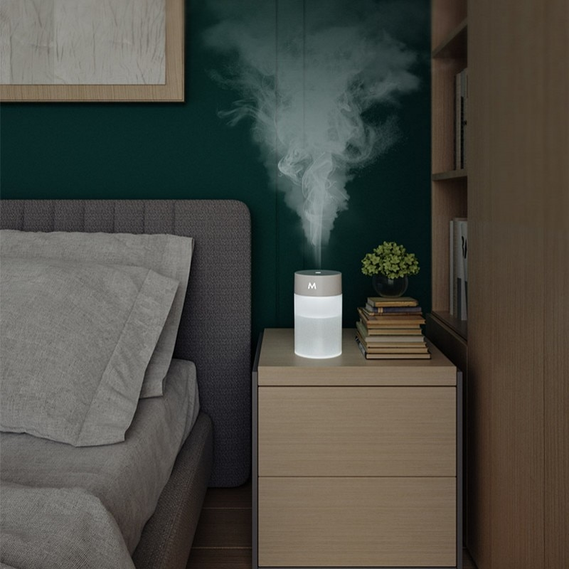 Mini Humidifier Aromatherapy Essential Oil Diffuser with Color Night Light USB Power Atomizer Household Aromatherapy Humidifier glorystar seven colors aromatherapy essential oil diffuser ultrasound atomization mini desktop humidifier household bedroom