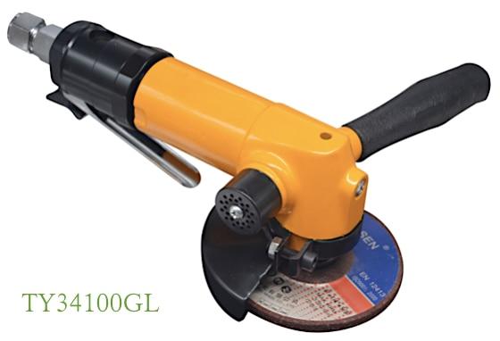 TY34150  Heavy Duty  Air Angle Wheel Grinder 6 in. Wheel Capacity Industrial MRO Applications enlarge
