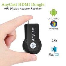 Anycast M2 Plus Miracast Mi bâton de télévision sans fil HDMI 1080P Wifi affichage DLNA Chromecast Youtube tout lecteur TV bâton Android