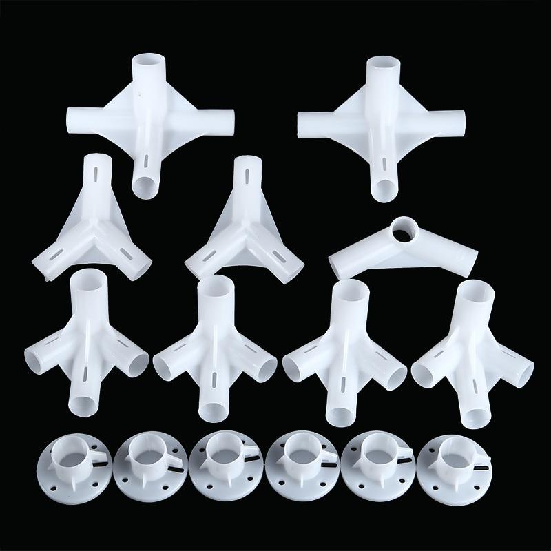 Pactical 25/19 м, запасные части для тента 3x6 м, тент беседка, угловой центральный соединитель, пластиковые тенты, фиксированные фитинги, 15 шт.