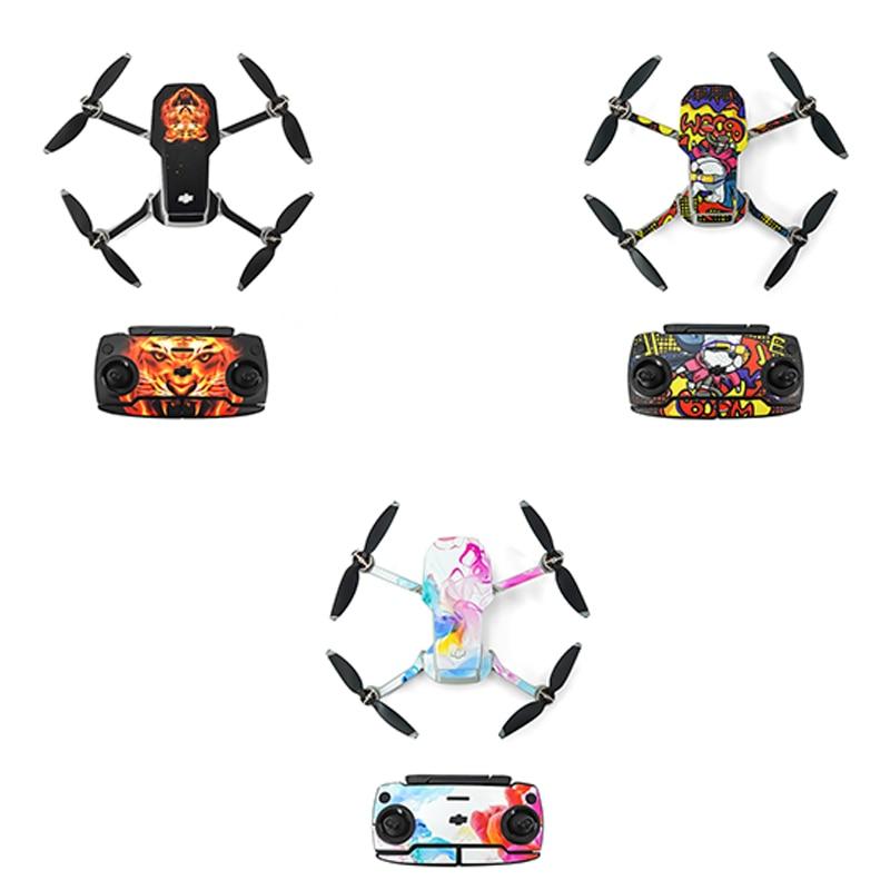 Фото - DJI Mavic Mini Waterproof Skin Protective PVC Stickers Drone Body Arm Remote Control Protector for DJI Mavic Mini Accessories kenko irnd16 для дрона dji mavic mini