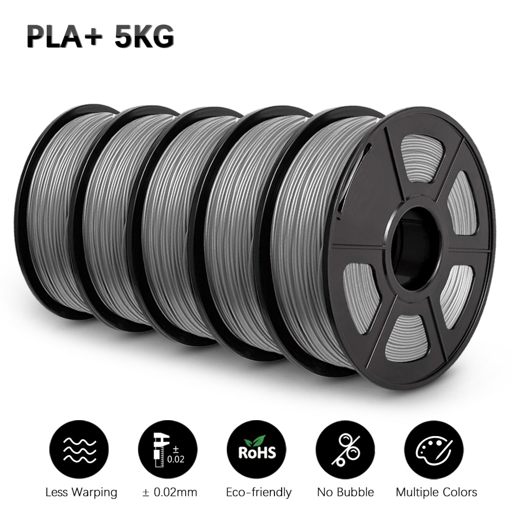 GOHIGH PLA PLUS 5KG 3D Filament Colorful 1.75mm With Spool Materials For 3D Printer