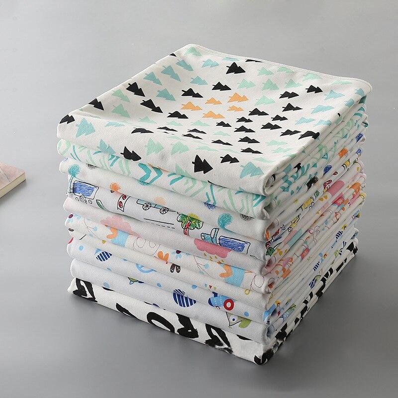 Imebaby a prueba de agua para la orina del bebé, almohadilla reutilizable para pañales, alfombra plegable de viaje de varios tamaños, cambiador de pañales de bebé pad90 * 120 、 100*150