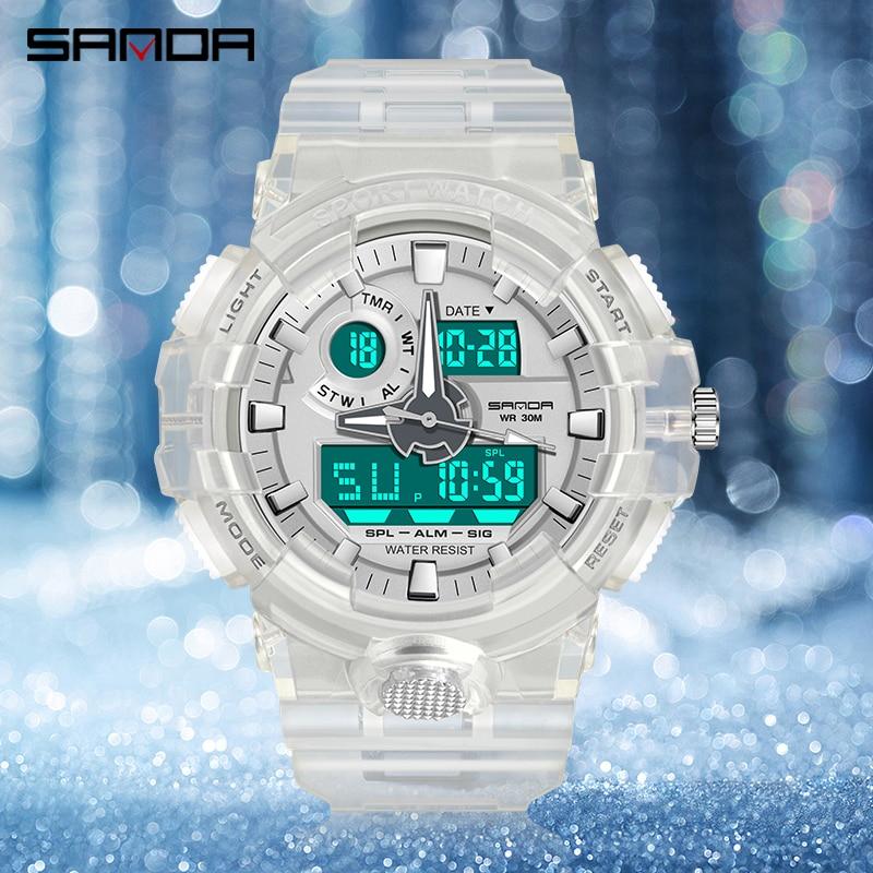 Ladies Fashion LED Digital Quartz Sports Watch Multifunctional Waterproof Alarm Clock Clock Girl Gift Watches Relogio Feminino enlarge