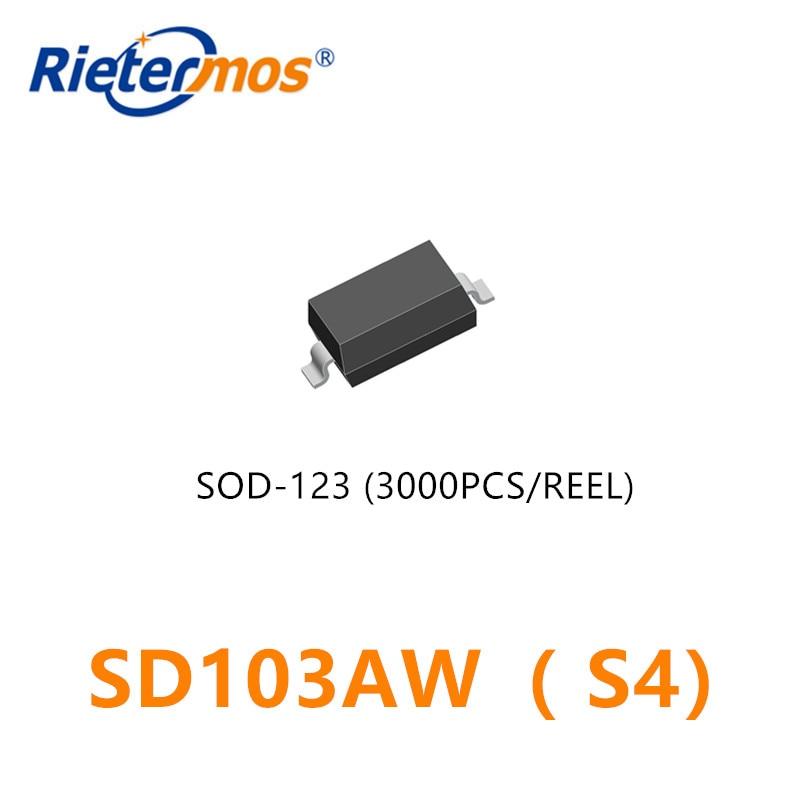 3000 قطعة SD103AW S4 SOD123 1206 40V SMD صنع في الصين