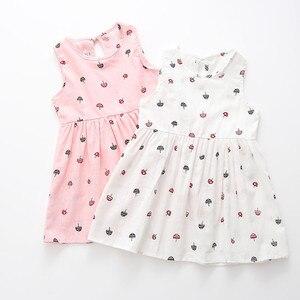 Dress for Girls Toddler Girls Summer Princess Dress Kids Party Wedding Sleeveless Dresses Birthday Dresses Children's Clothing
