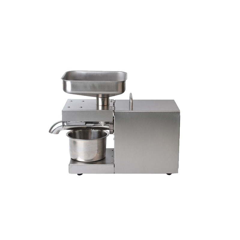 home use stainless steel screw coconut oil presser expeller cold hot press oil machine peanut sesame oil maker 220v or 110v SUSWEETLIFE 110V/220V Automatic Cold Oil Press Machine High Extraction Rate Oil Extractor Peanut Coconut Olive Oil Press Machine