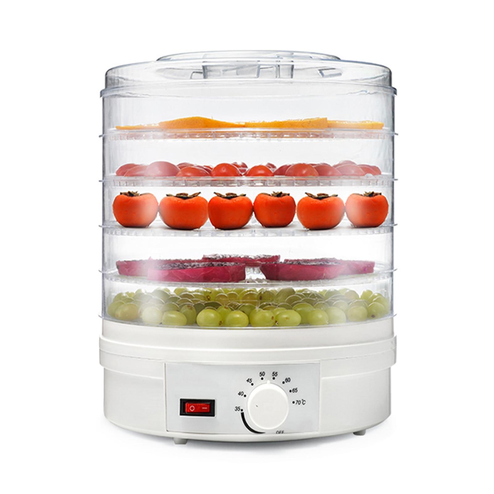 Fruit Dryer Professional Electric Food Dehydrator 280W 5 Tray Beef Fruit Vegetable Dryer Beef Jerky Machine